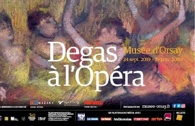 Exhibition Degas at the Opera – Musée d'Orsay