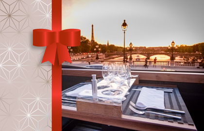 Gift voucher : Bustronome dinner