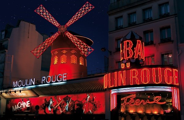 Moulin Rouge - Christmas Dinner and show «Féerie»