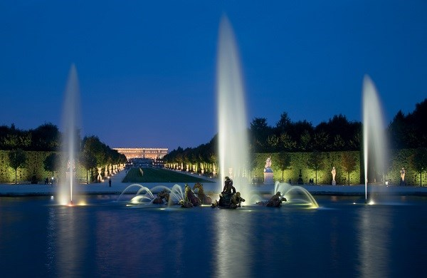 Fountains Night Show of Versailles