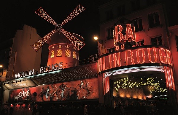 Paris Illuminations & Moulin Rouge