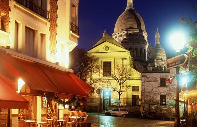 Musical dinner in Montmartre