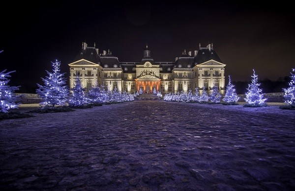 Christmas Visit with Audio Guide at Vaux le Vicomte