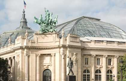 Exhibitions at the Grand Palais