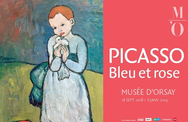Picasso. Blue and rose