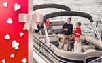 Gift voucher for a romantic private river cruise with a bottle of champagne