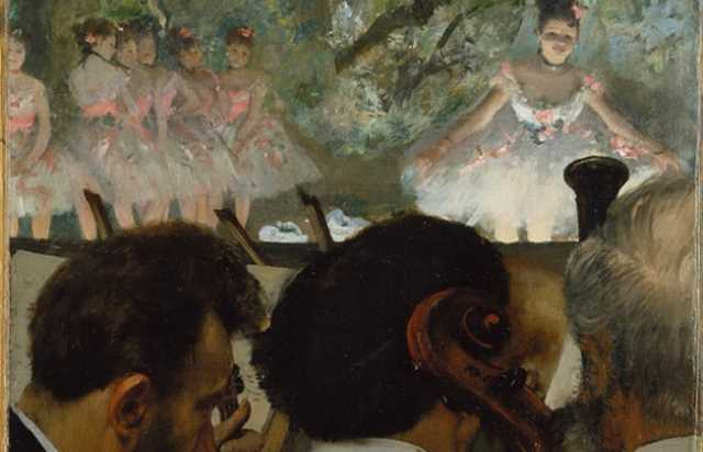 Image result for degas at the opera""