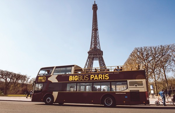 Big Bus Paris - Sightseeing bus