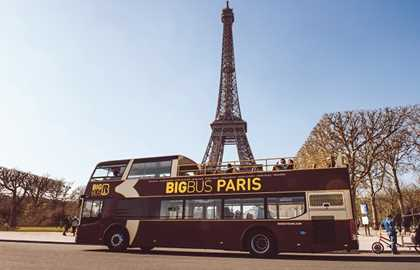 Big Bus Paris - Bus Touristico