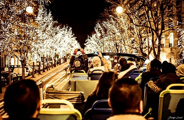 Christmas Lights Open-Top Bus Tour