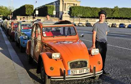 Paris Highlights 2CV private tour
