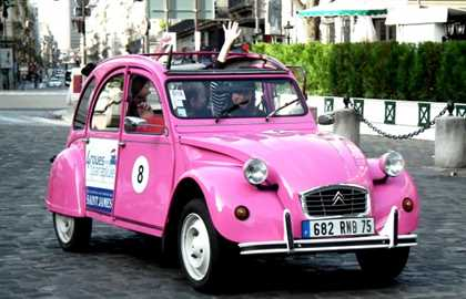 2CV Private Tour : Secret Paris