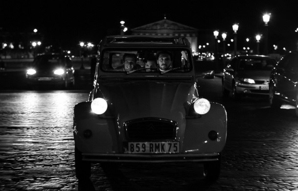 Passeio especial by Night a bordo do 2CV