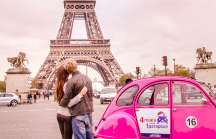2CV Tour : Romantic Paris