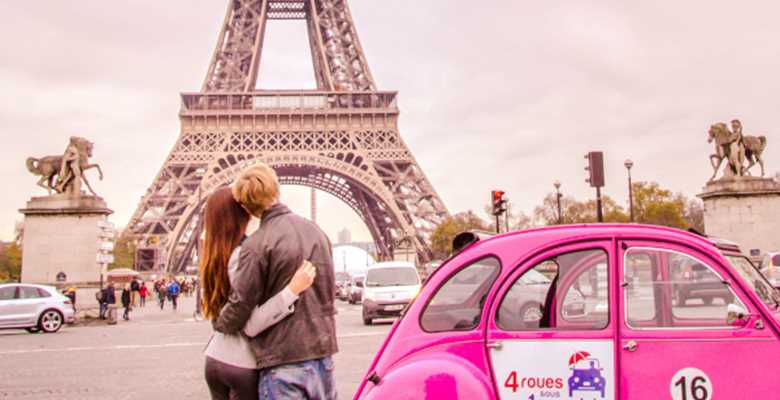 Romantic Paris 2CV Tour