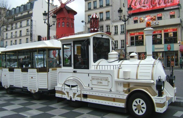 The Petit Train de Montmartre - Guided tour
