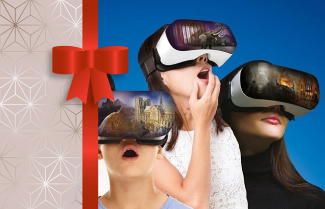Gift Voucher Flyview virtual reality experience