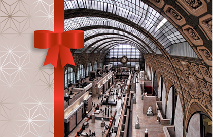 Gift Voucher Musée d'Orsay – Permanent collections and temporary exhibitions