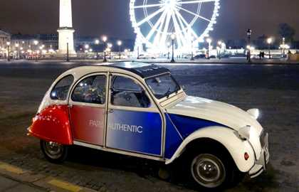Paris em 2CV - Paris Authentic