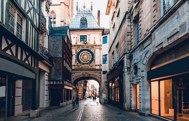 Day trip to Rouen and Honfleur