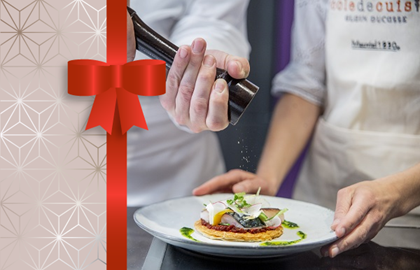 Gift Voucher Cooking or Pastry lessons - École Alain Ducasse