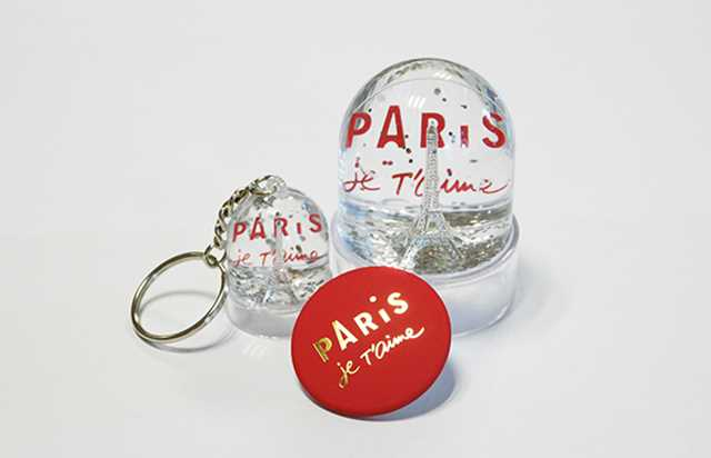 Trio pack: Snow globe, keyring and magnet