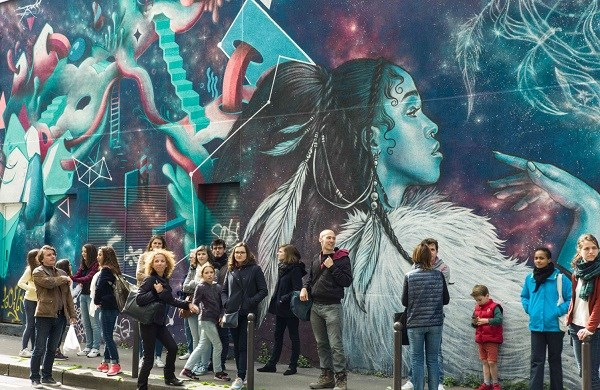 Guided Tour of Belleville's Street Art
