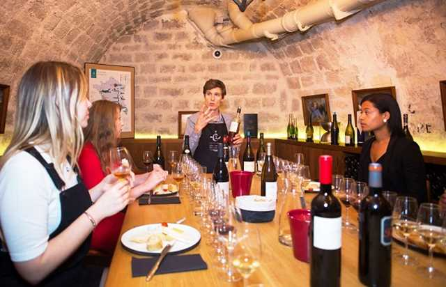 The Ultimate Tasting Class at the Caves du Louvre