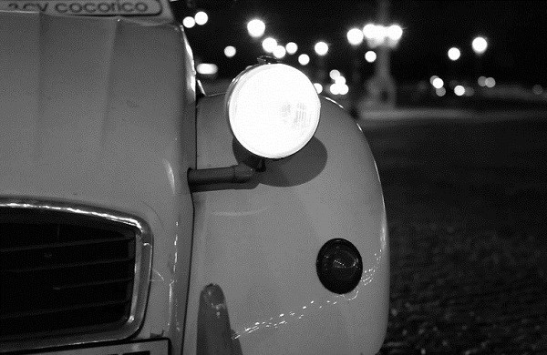 Paris Special by Night in a 2CV